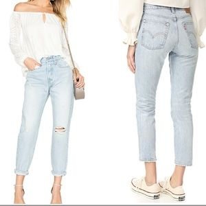 NWT Levi's Wedgie Icon Fit Desert Delta High Rise